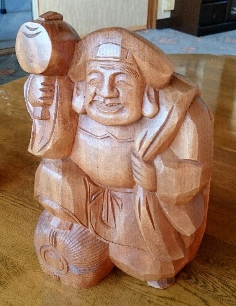 木製のエビスさま