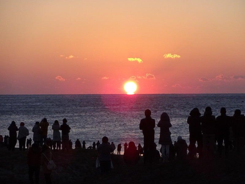 伊良湖岬の日の出