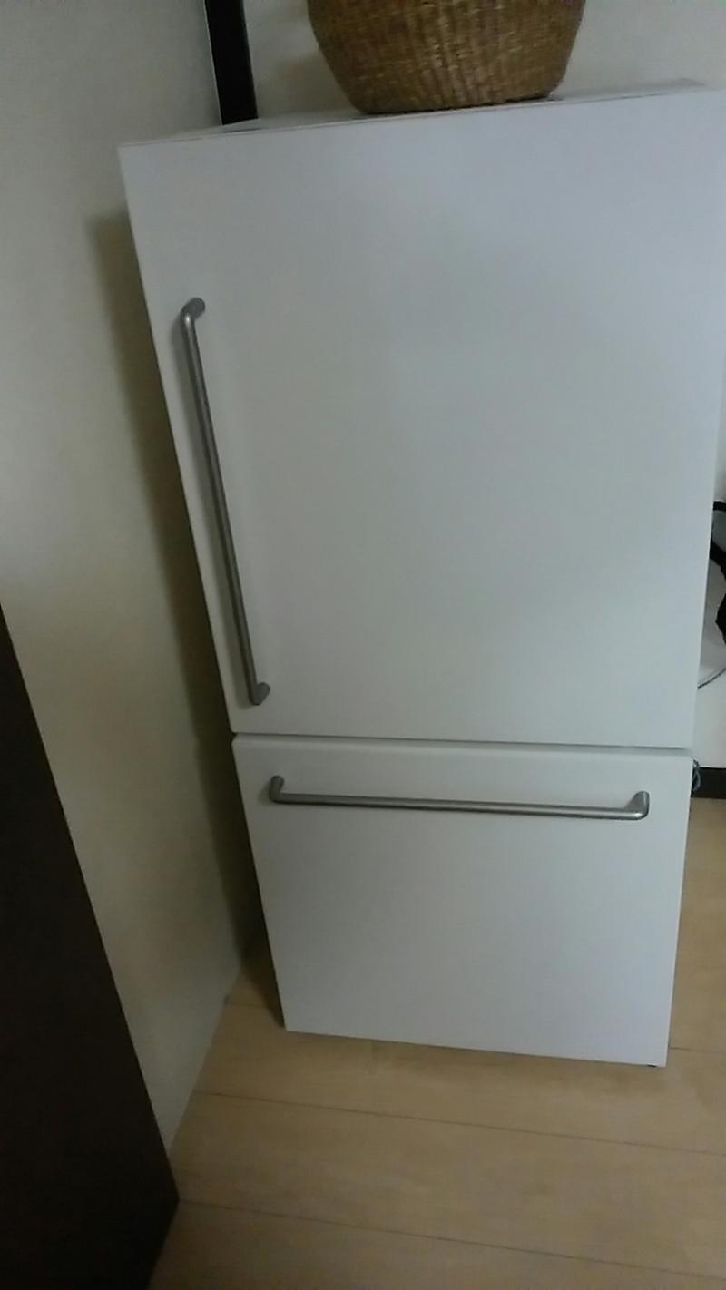 そんな、冷蔵庫は、 無印良品の、