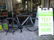 CANNONDALE 2016 ROADBIKE CAAD12 TEST RIDE COME HERE キャノンデール ロードバイク 試乗車
