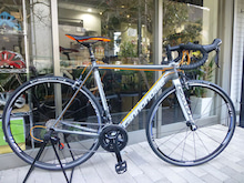 CANNONDALE 2016 ROADBIKE CAAD12 105 FRAME SET ORG COLOR キャノンデール ロードバイク 試乗車 フレームセット オレンジ カラー