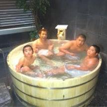 家族で玉名温泉へ。
