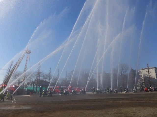 国立市 消防出初式