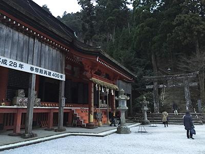 2016年初詣・英彦山神宮・和布刈神社