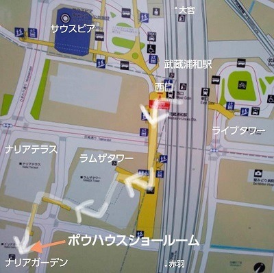 2010128サロンデポウ地図