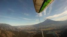 ハンググライダーの魅力を伝えたい富士山