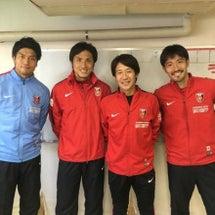浦和駒場スタジアムで…
