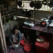 原始的なカンボジアの…