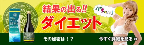 浜田ブリトニー流、結果の出るダイエット「ベジライフ酵素液」