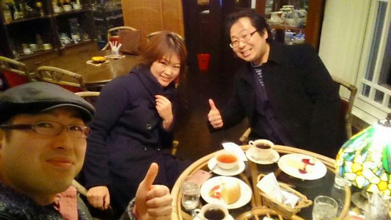 お姉さまとお茶をシバく平田兄弟