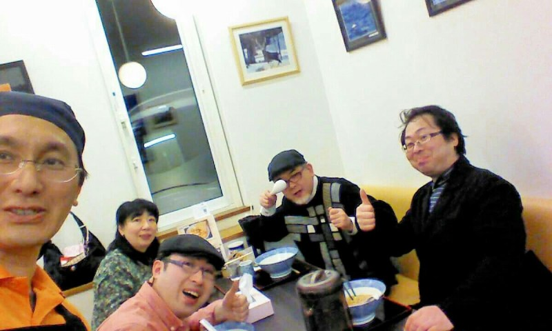 麺や北町さんで平田兄弟