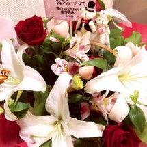 沢山のお花ありがとう…