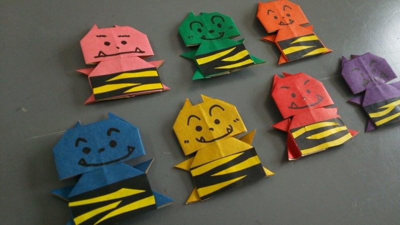 クリスマス 折り紙:節分 折り紙-ameblo.jp