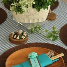 春らしいテーブルコー…