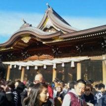 初詣に寒川神社