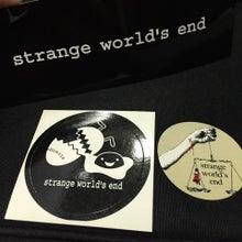 strange world's end ステッカーセット