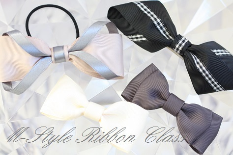 m-style ribbon step1