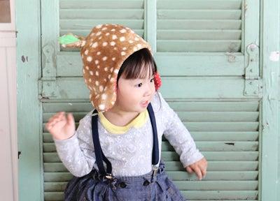 可愛い子供の帽子・子バンビ帽子