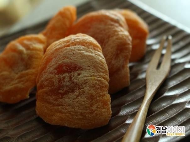 韓国旅行、慶尚南道、グルメ、柿