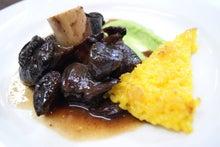 エゾ鹿テール肉の赤ワイン煮込み