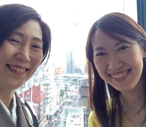 皆川公美子さんと名倉民子さん