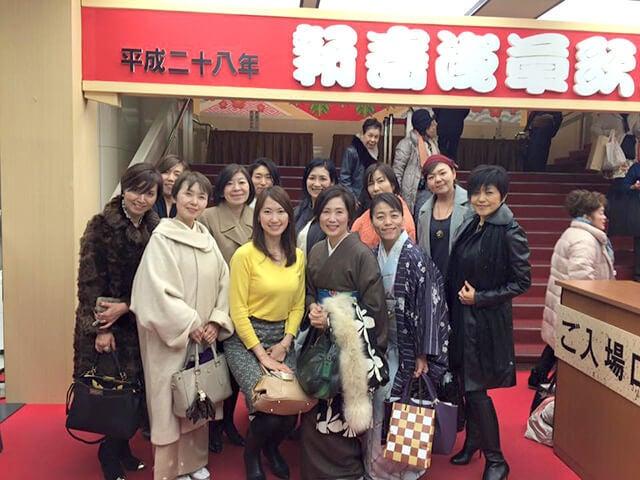 歌舞伎を観終わって