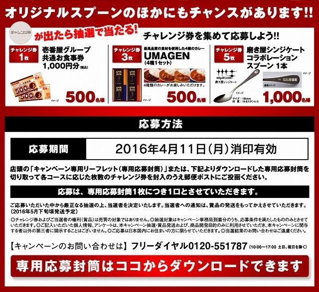 グランド・マザー・カレー2016 CoCo壱番屋 ココイチ