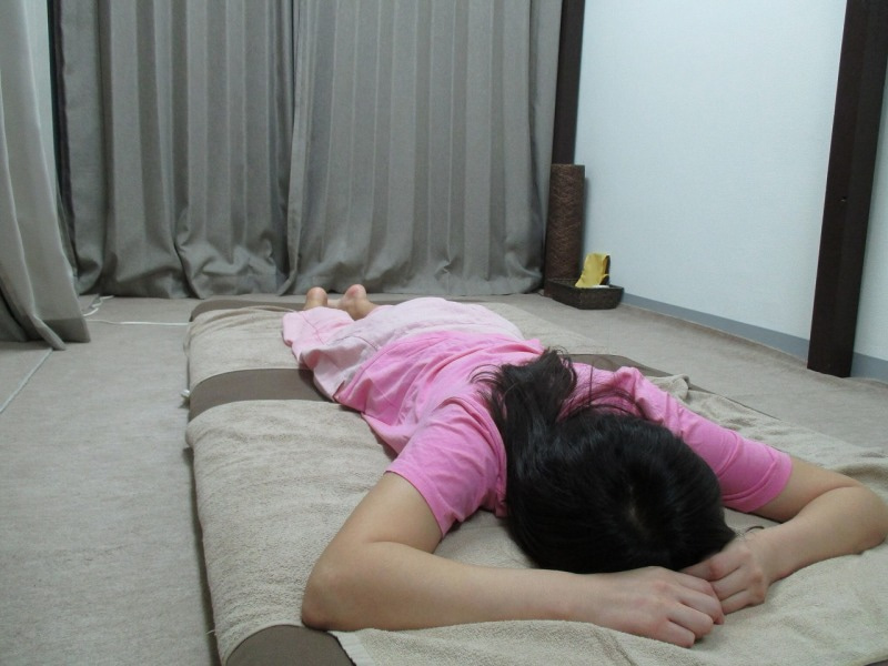 プライベートレッスン☆タイ古式マッサージ8