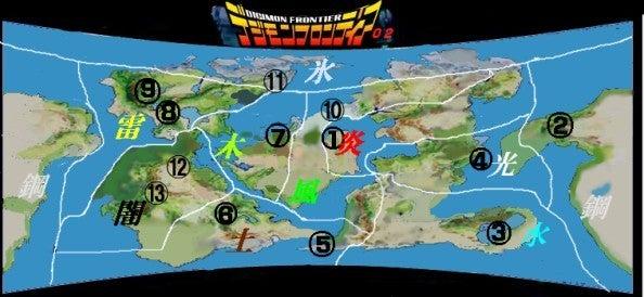 デジフロエリアマップ