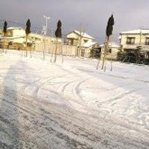 雪だるま作りました&…