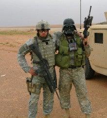 愉快な軍人さんたちの画像