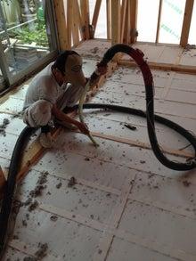 床吹き込み工程
