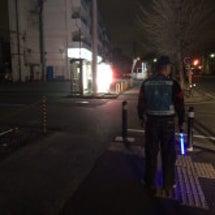 愛川町を徒歩でパトロ…