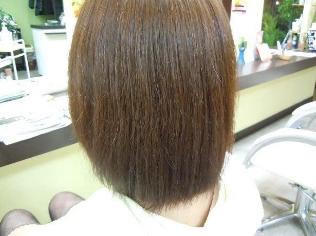 ミコノス縮毛矯正+カラー2