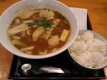 とん太(カレーうどんとご飯のセット)