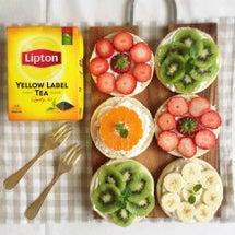 リプトンひらめき朝食…