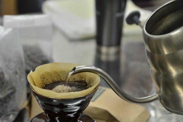 おいしいコーヒーの淹れ方講座