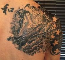 東京下北沢3-Way Junction Tattoo零戦タトゥー