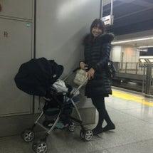 久々に侑生と新幹線♪…
