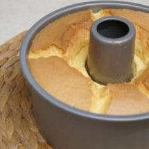 シフォンケーキを焼き…