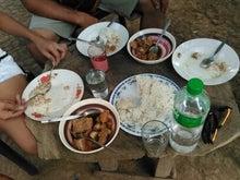 山村の食事