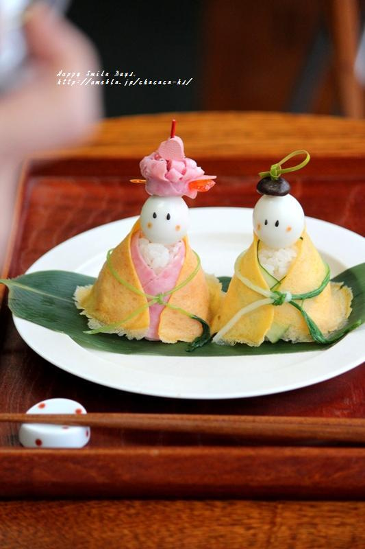 雛人形寿司。