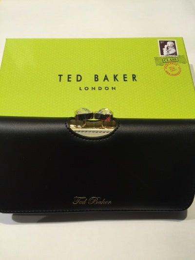 CALEENA長財布ブラック箱