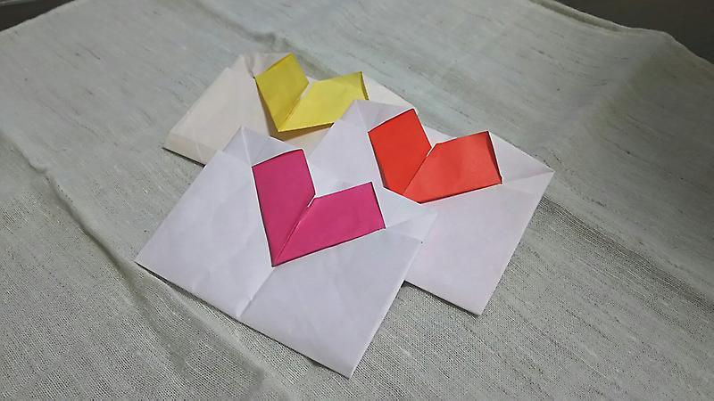 クリスマス 折り紙 折り紙 手紙 簡単 : ameblo.jp