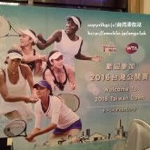 台湾WTAオープン、…