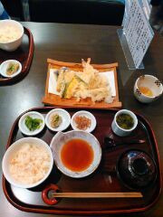 天ぷら御膳(一祥)16.2