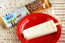 kiriクリームチーズとクッキークランチアイス