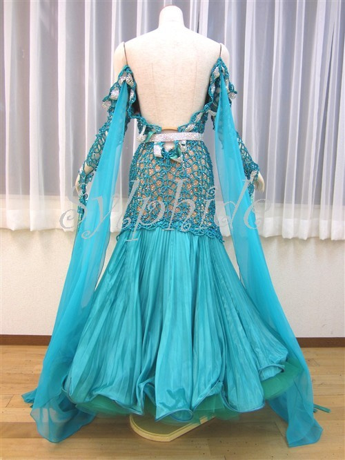 社交ダンスドレス・モダンドレス・英国製