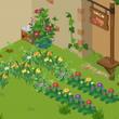 ピグライフ裏庭:種を…