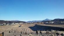 北方向(蓼科山や車山・霧ヶ峰)